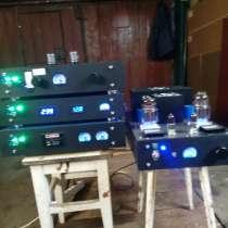 Ламповый аудиоусилитель, в Дубне