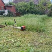 Покос травы качественный, в Славянске-на-Кубани