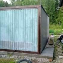 Тент укрытие гараж пенал, в Туле