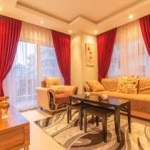 Роскошная квартира с1 спальней в 200м от моря Алания, Турция, в г.Аланья