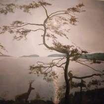 Картина маслом 1м×80см, в г.Ташкент