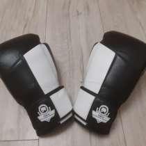 Перчатки из натуральной кожи для бокса, кик боксинг, тайский, в г.Гродно