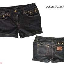 Dolce&Gabbana женские джинсовые шорты новые S 100% authentic, в г.София