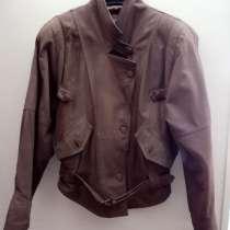 Женская кожаная куртка, в Новосибирске