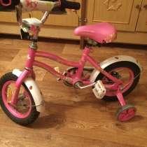 Велосипед детский розовый 3-5 лет, в Татищево