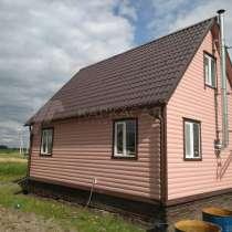 Каркасный Дом под ключ 6х8м по проекту Суоми, в г.Солигорск