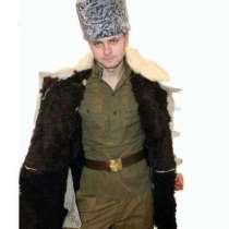 Бекеша армейская белого цвета, в Ростове-на-Дону