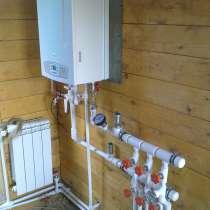 Монтаж систем отопления и покраска домов ЛКМ, в Первоуральске