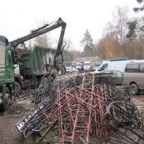 Прием металлолома, лома черных металлов, чугуна в Домодедово, в Москве
