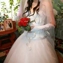 Продам чудесное, свадебное платье, в г.Семей