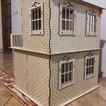 Деревянный 3д конструктор кукольный дом размер 55х45х40, в г.Дунаевцы