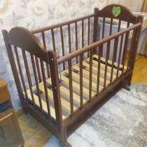 Детская кроватка-маятник, в Йошкар-Оле