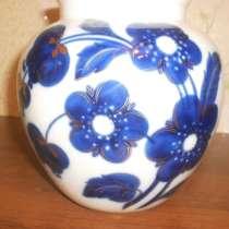 """Фарфоровая ваза """"синие цветы"""". лфз, в Санкт-Петербурге"""