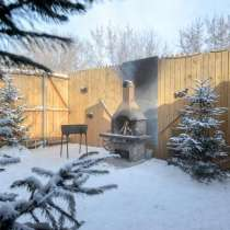 Русская баня в Дзержинском районе Новосибирска, в Новосибирске
