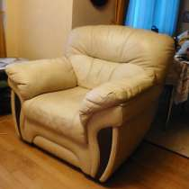 Продам элитное кожаное кресло Лестер Британика, в Красногорске
