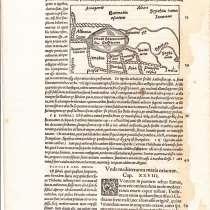 Карта Область Каспийского моря 1538, в Октябрьском