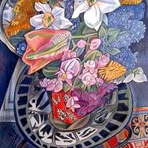 Картина Весенний букет (графика), в Саратове
