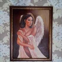 Картина Ангел (живопись масло), в Москве