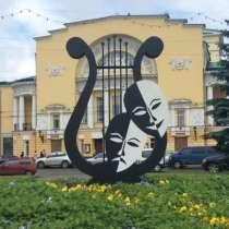 """Арт-объект """"Лира"""", в Москве"""