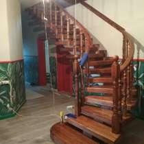 Изготовление лестниц из дерева, в Краснодаре