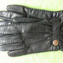 Перчатки мужские кожаные2 Германия, в Омске