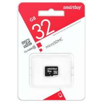 Карта памяти Smartbuy microSDHC Class 10 LE 32GB, в Москве