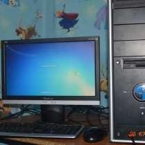 Компьютер в комплекте 2 ядра 2 гига широкоформатный, в г.Павлодар