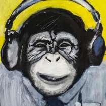 Картина шимпанзе, в г.Таллин