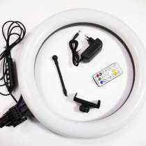 Кольцевая LED лампа RGB MJ38 38см 220V 1 крепл. тел USB, в г.Киев