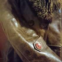 Кожаная куртка на меху, в г.Херсон