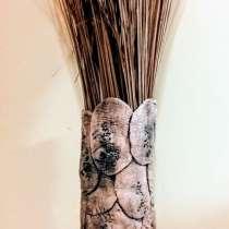 Ваза из керамических лепестков, в г.Иерусалим