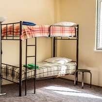 Кровати односпальные, двухъярусные для хостелов и гостиниц, в Сочи