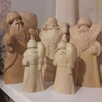 Дед Мороз резной. Заготовка, в Санкт-Петербурге