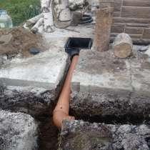 Строительство заезда и стоянки на дачном участке в Люберцах, в Люберцы