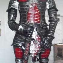 Рыцарь-витринная скульптура из металла, в Сочи