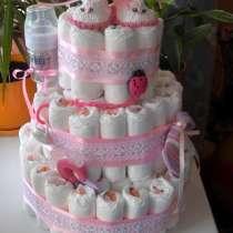 Торт из подгузников, в Казани