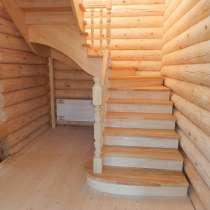 Лестница из дерева на заказ от производителя, в Новосибирске