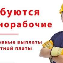 Разнорабочие ежедневные выплаты, в Санкт-Петербурге