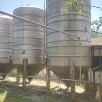 Емкость из нержавеющей стали 20 и 50 м3,реактора, сборники, в г.Одесса