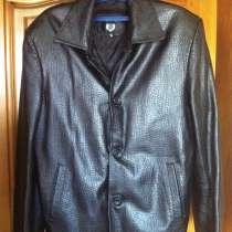 Пиджак кожаный, в Бийске
