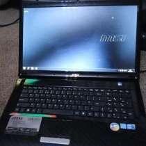 Ноутбук MSI i168, в г.Горловка