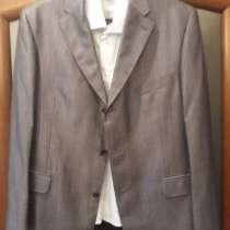 Пиджак брюки рубашка галстук новое р52-54, в Домодедове