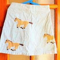 Красивая, яркая бирюзовая юбка производство Бангладеш, в Краснодаре