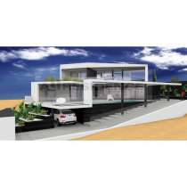 Роскошная вилла с современной архитектурой и видом на море, в г.Albufeira