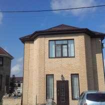 Двухэтажный новый дом с ремонтом, в Анапе