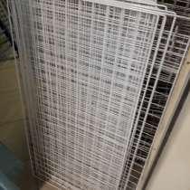 Решетки сетки белые ячейка 5х5см, в Санкт-Петербурге