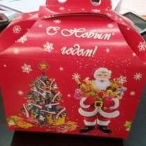 """Подарочные Коробки """" С Новым Годом!"""", в г.Бишкек"""