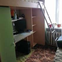 Уголок школьника, кровать чердак+стол, в Смоленске
