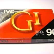 Аудиокассеты JVC Gl-60 пр-ва Корея (новые в блоке), в Санкт-Петербурге