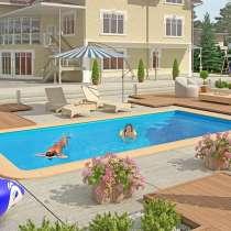 Строительство бассейнов под ключ, в Анапе